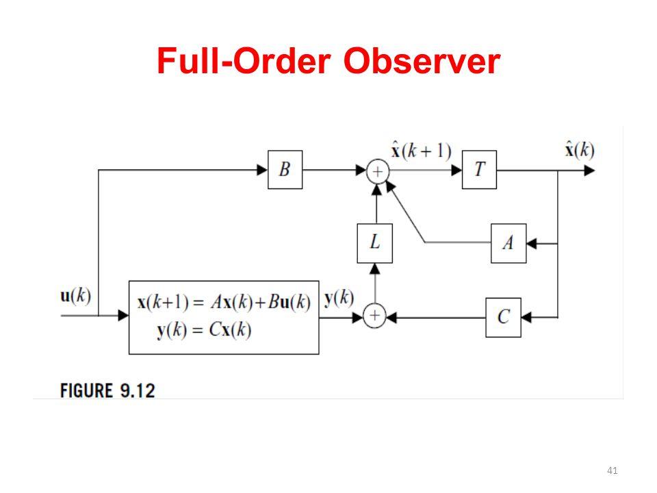Full-Order Observer