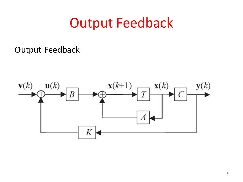 Output Feedback Output Feedback