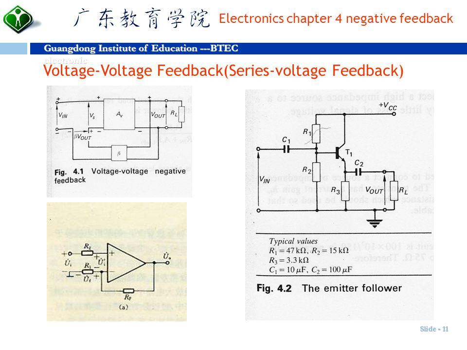 Voltage-Voltage Feedback(Series-voltage Feedback)