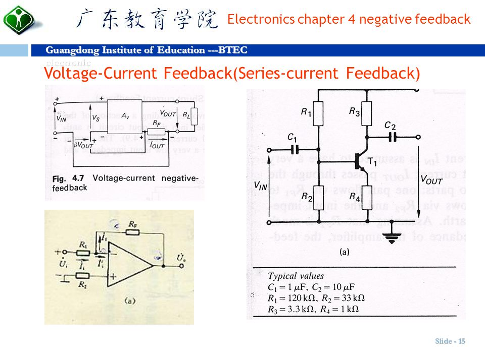 Voltage-Current Feedback(Series-current Feedback)