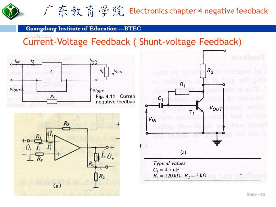 Current-Voltage Feedback(Shunt-voltage Feedback)