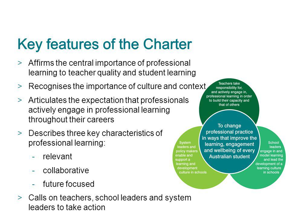 Key features of the Charter