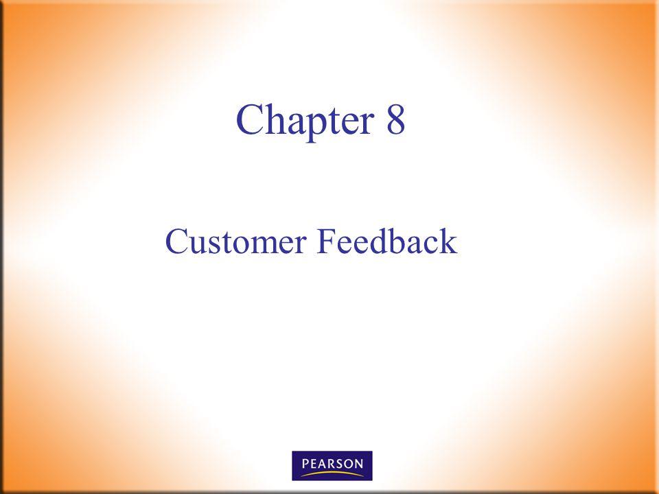 Chapter 8 Customer Feedback