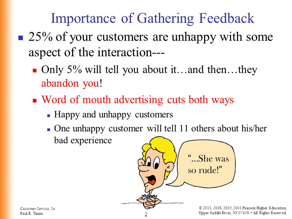 Importance of Gathering Feedback
