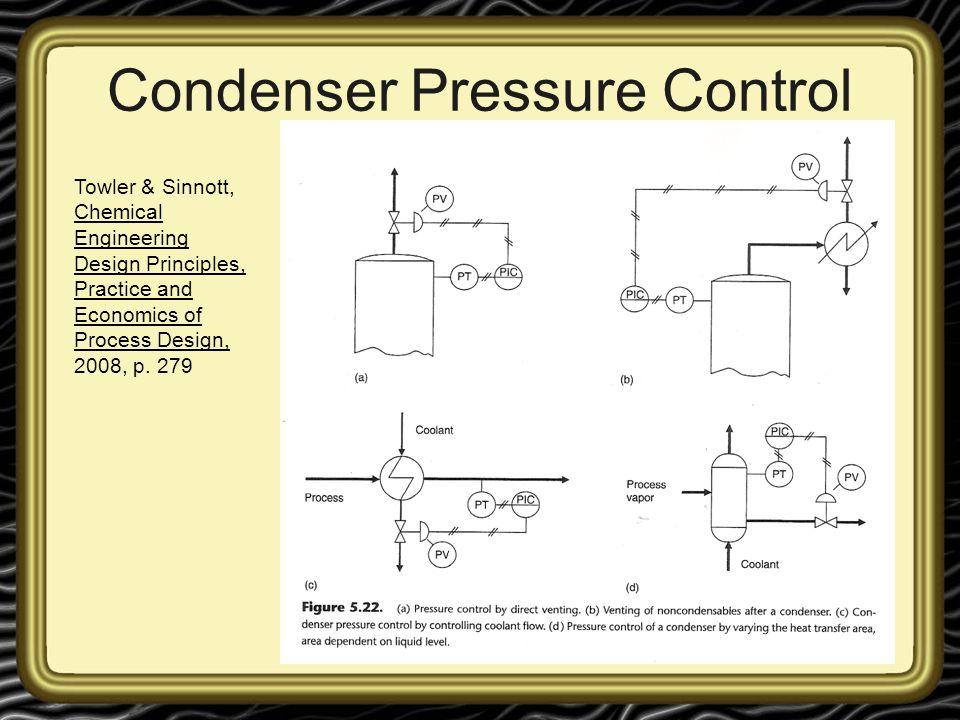 Condenser Pressure Control