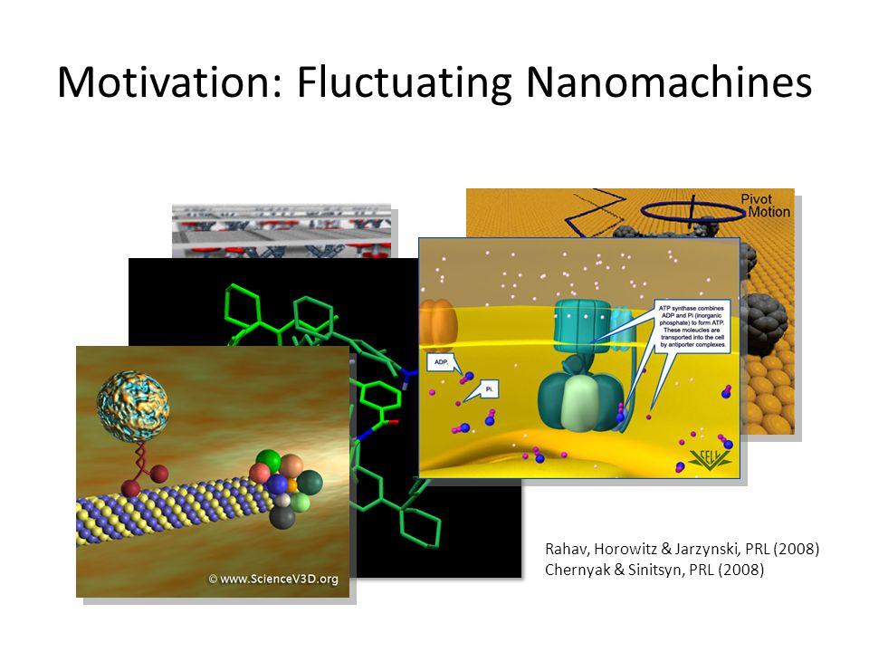 Motivation: Fluctuating Nanomachines