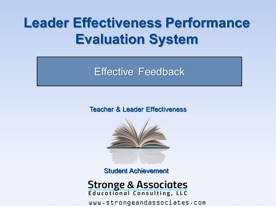 Leader Effectiveness Performance Evaluation System