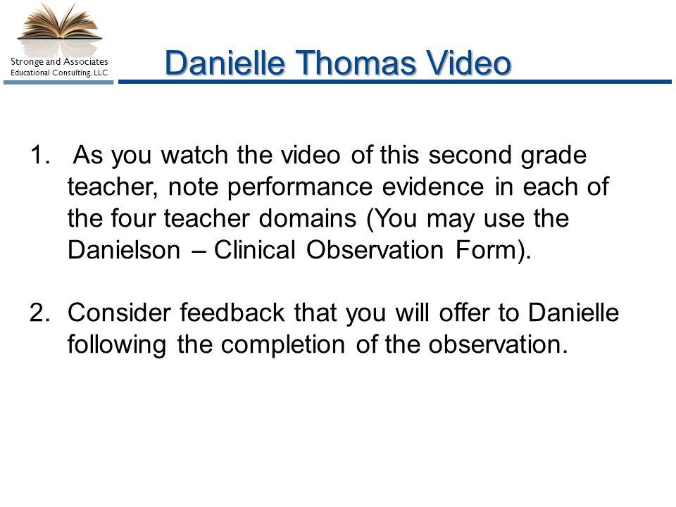 Danielle Thomas Video