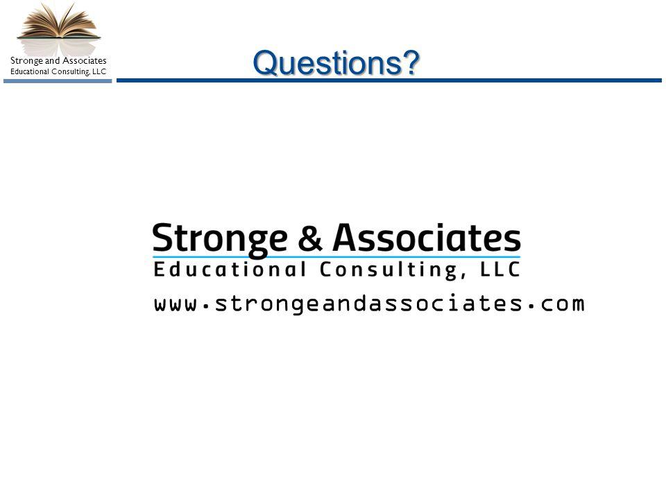 Questions www.strongeandassociates.com