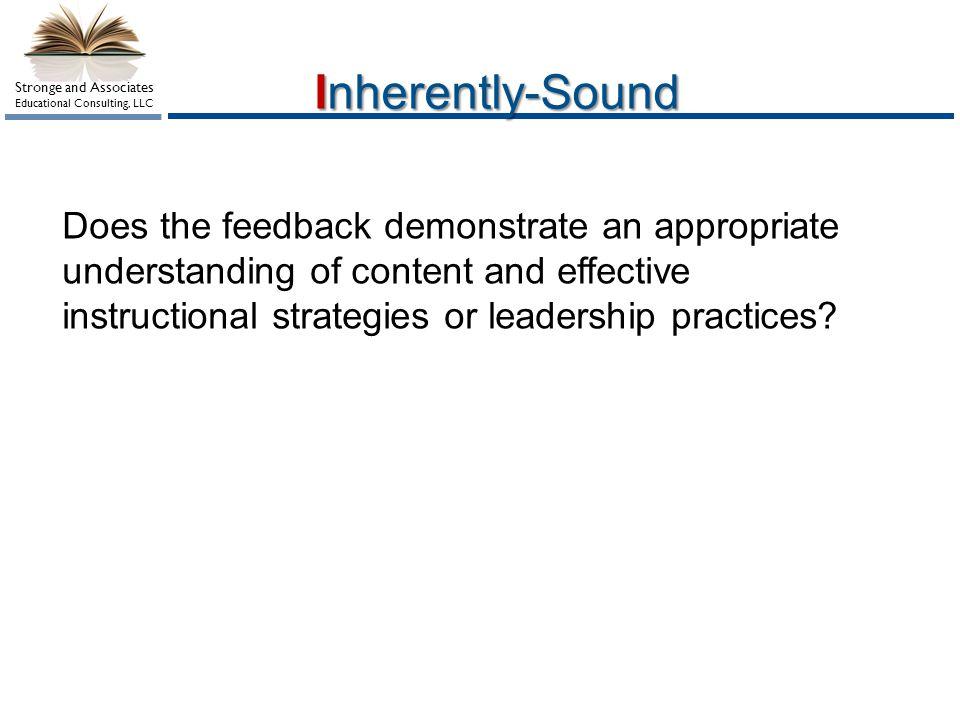 Inherently-Sound