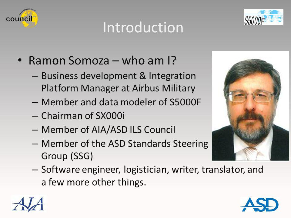 Introduction Ramon Somoza – who am I