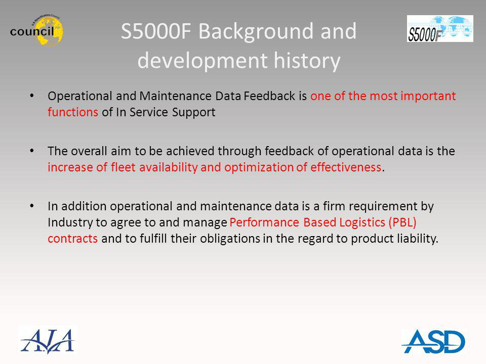 S5000F Background and development history