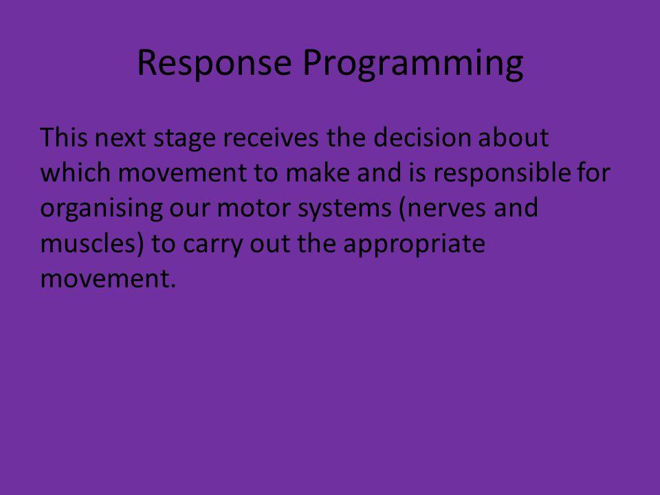 Response Programming