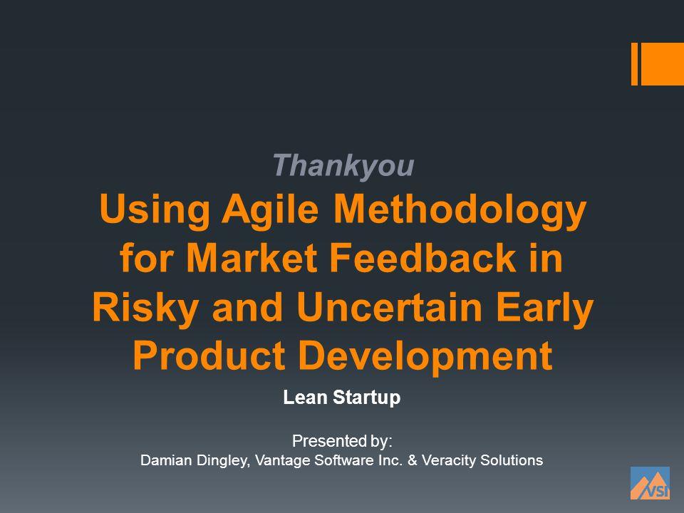 Damian Dingley, Vantage Software Inc. & Veracity Solutions