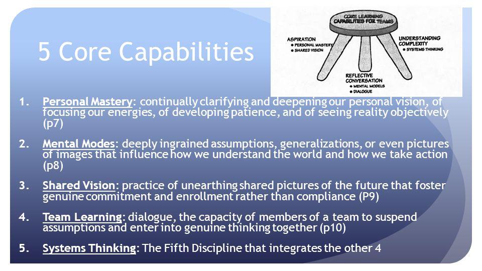 5 Core Capabilities