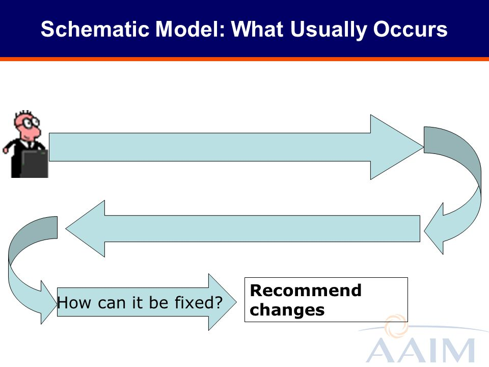 Schematic Model: What Usually Occurs
