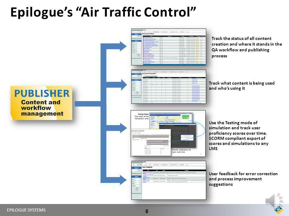 Epilogue's Air Traffic Control