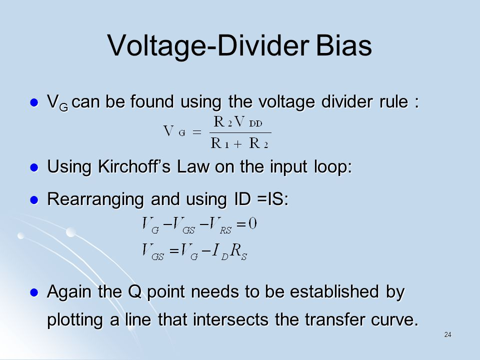 voltage divider rule examples pdf