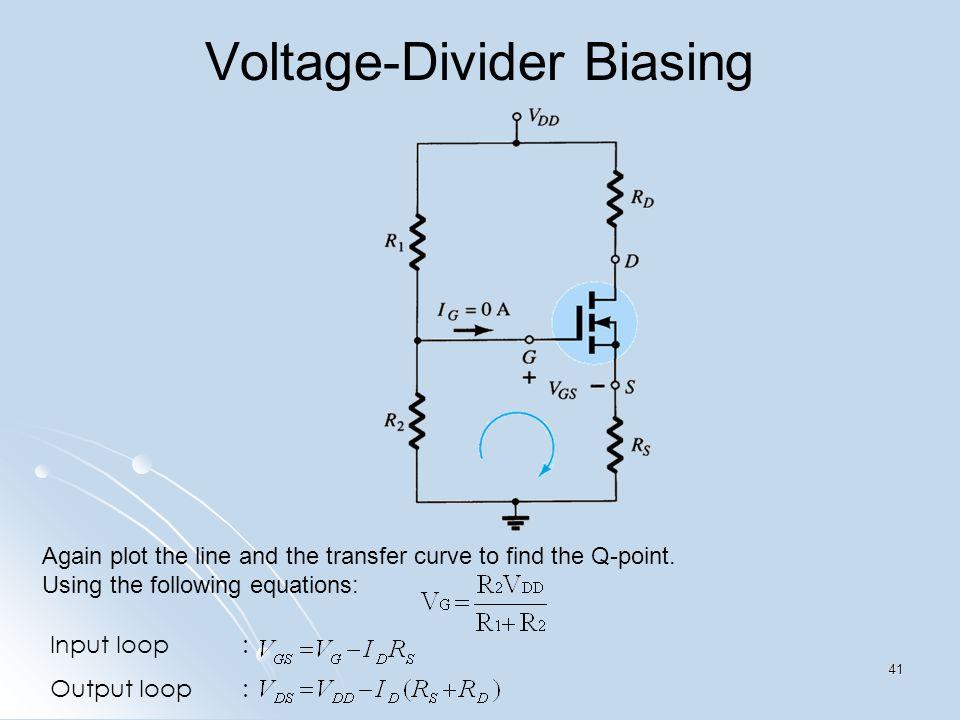 Voltage-Divider Biasing