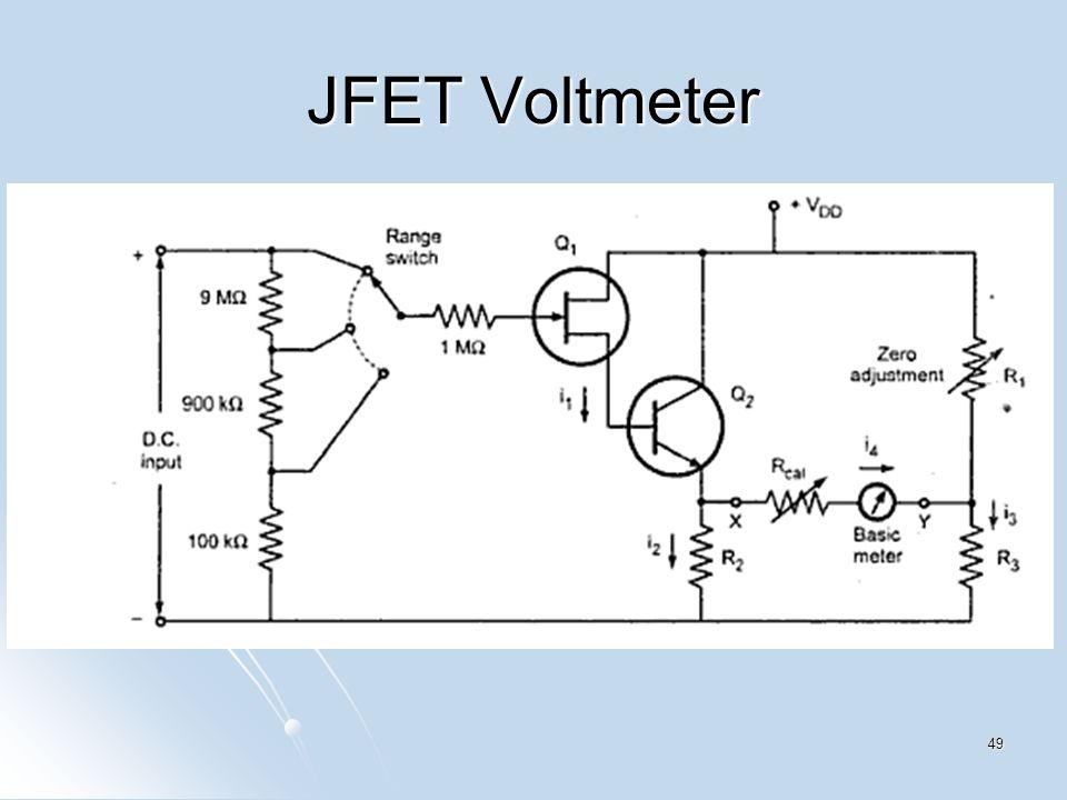 JFET Voltmeter