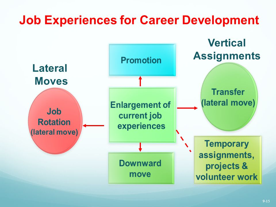 Job Experiences for Career Development