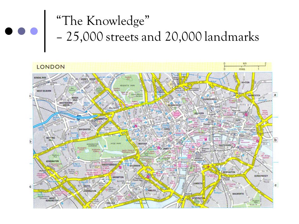 – 25,000 streets and 20,000 landmarks