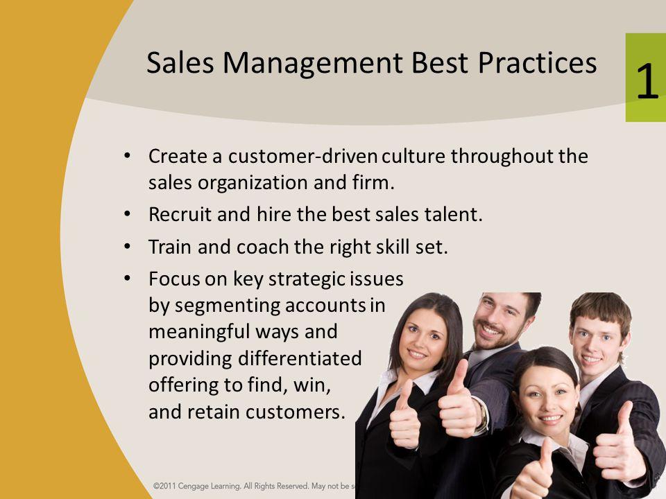Sales Management Best Practices