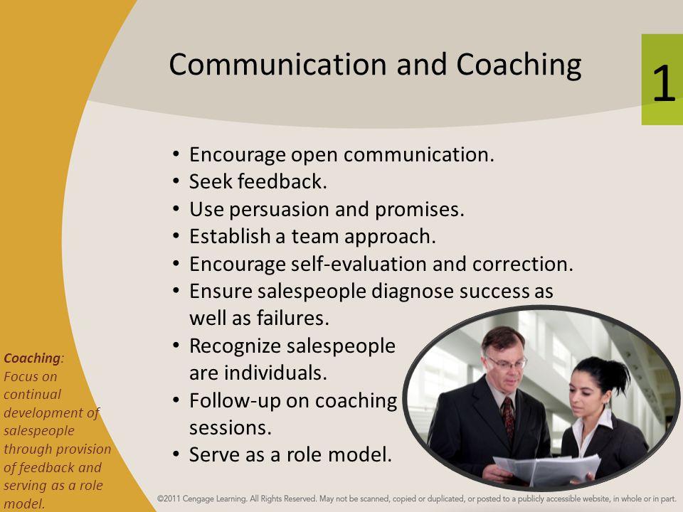 Communication and Coaching