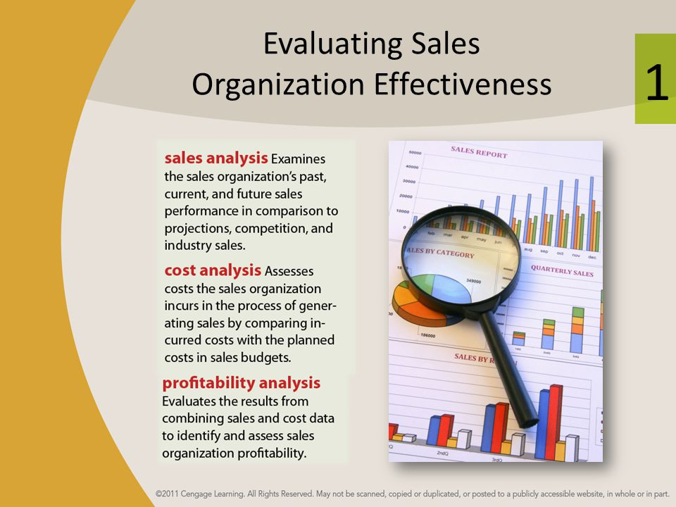 Evaluating Sales Organization Effectiveness