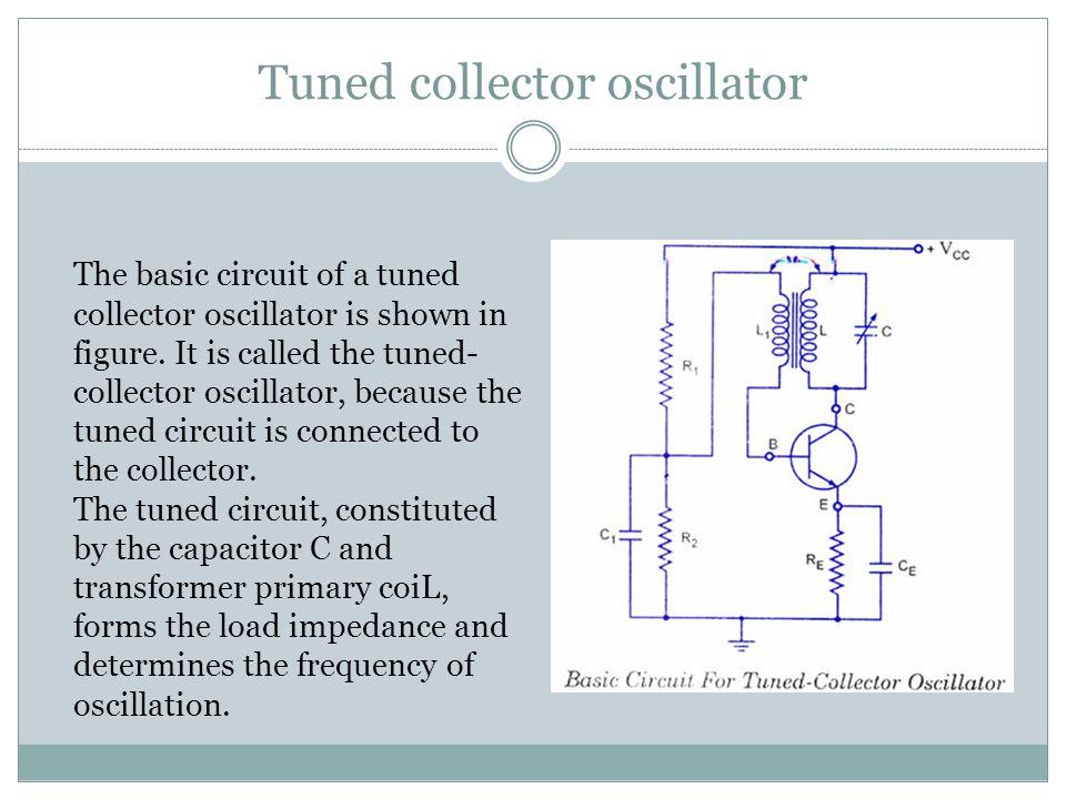 Tuned collector oscillator