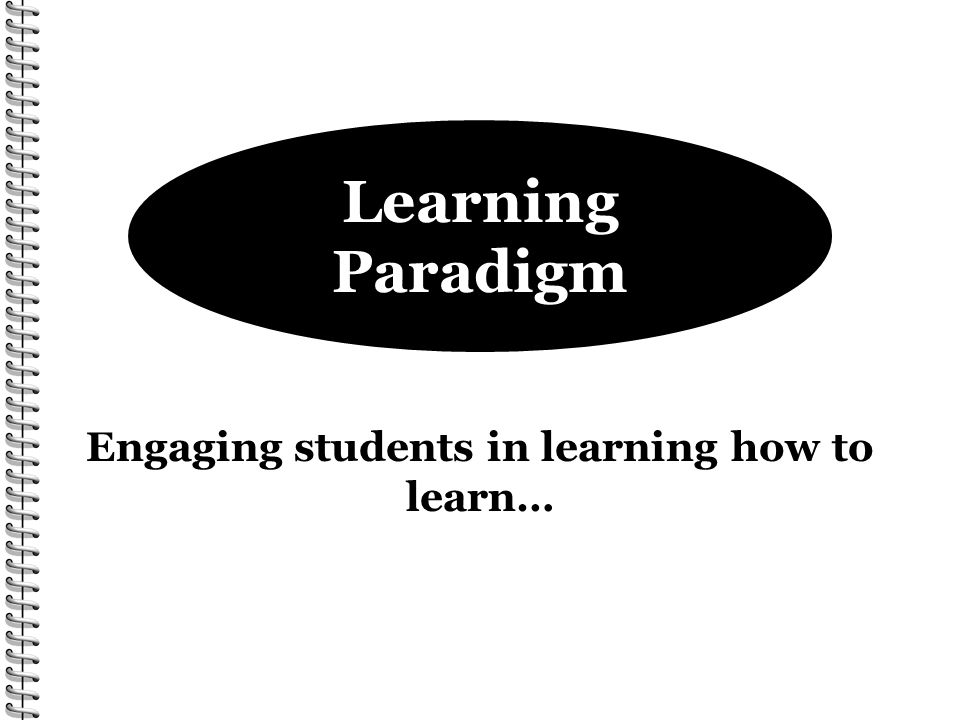Engaging students in learning how to learn…