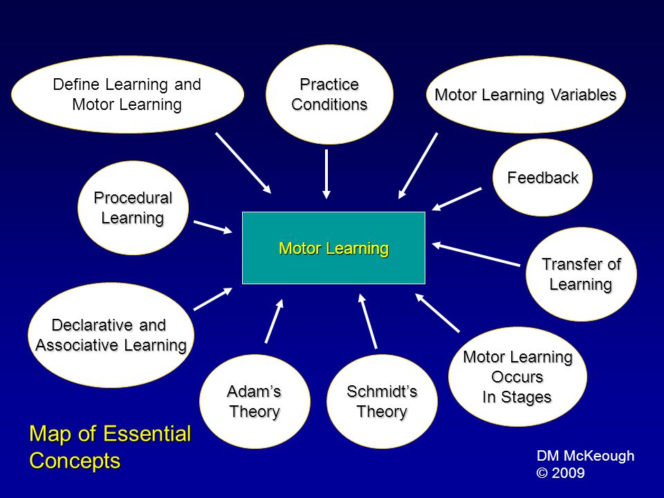 Motor Learning Variables
