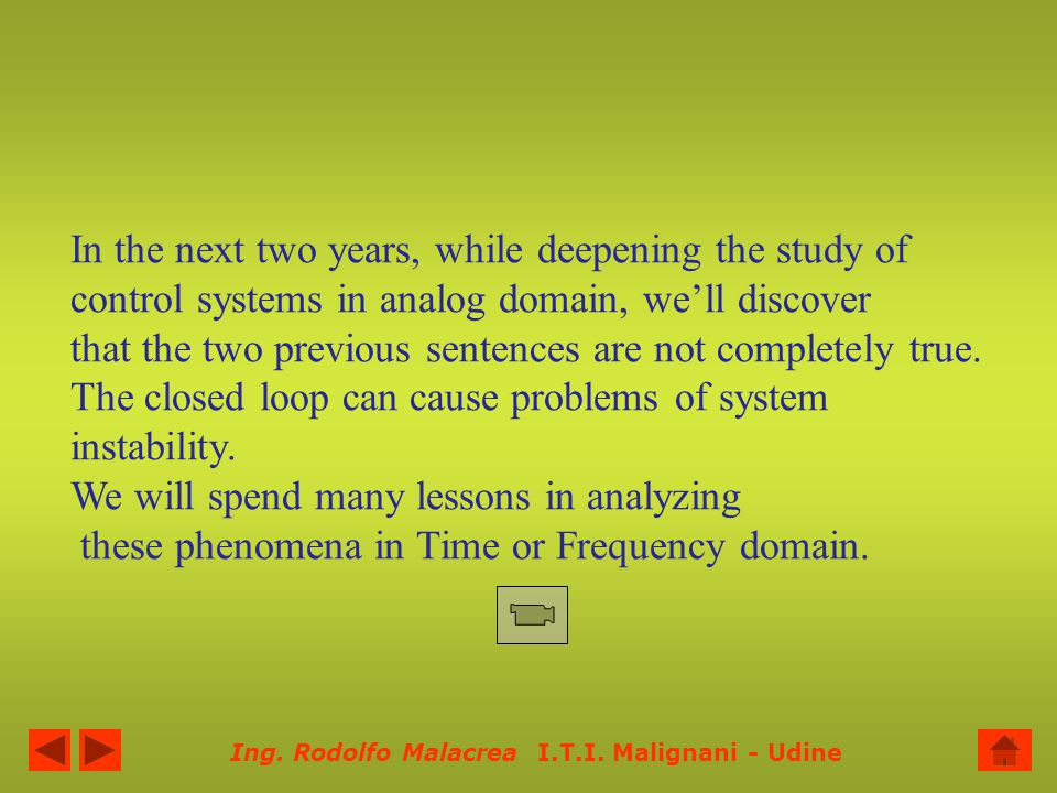 In the next two years, while deepening the study of