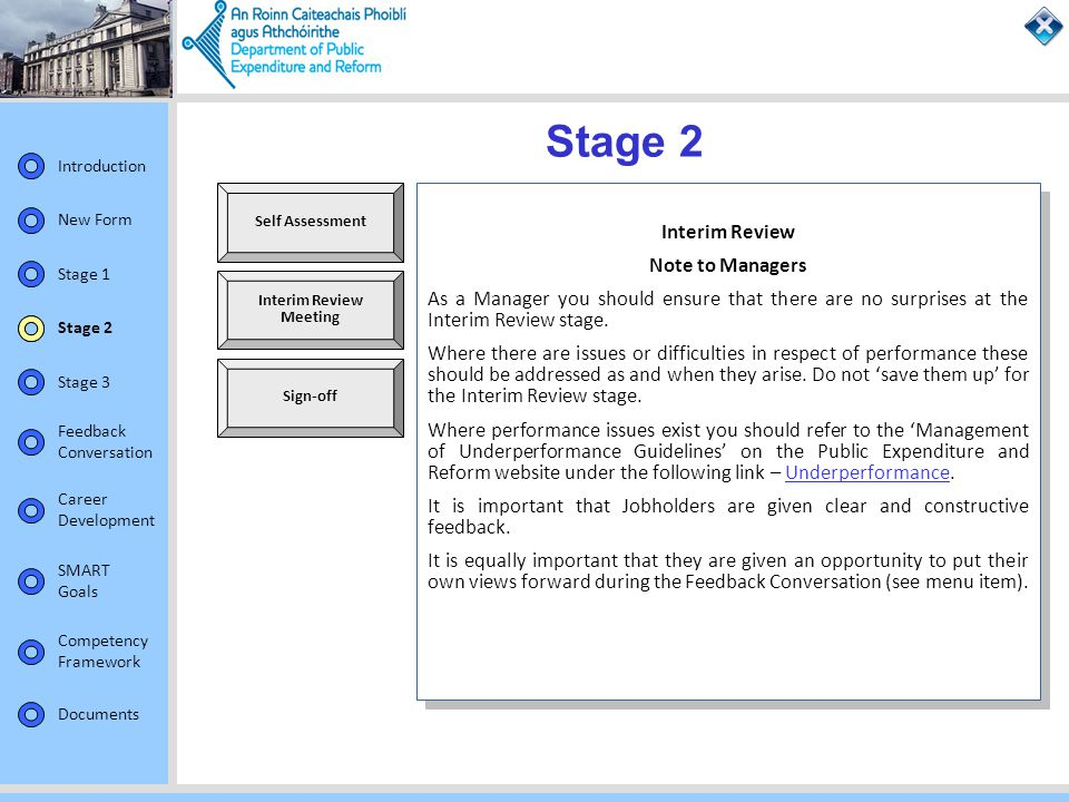 Stage 2 Interim Review Note to Managers