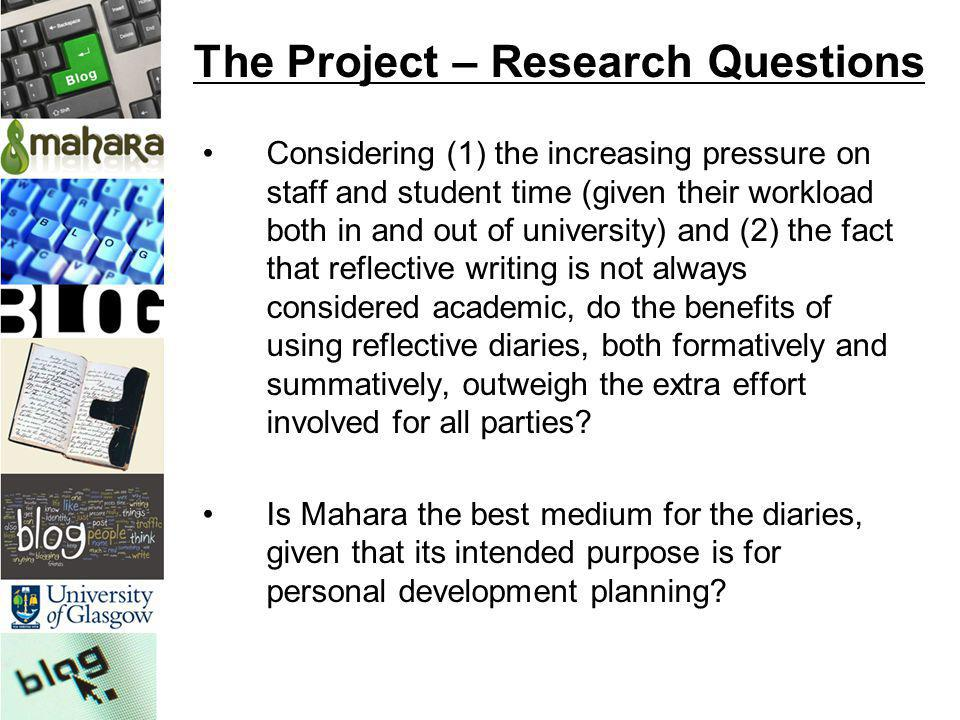 research project questions Learn about developing research questions and identifying key concepts that both serve to provide guidance in writing the thesis statement.