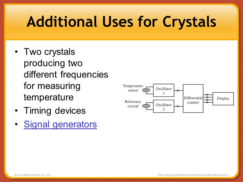 Additional Uses for Crystals