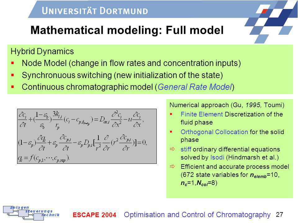 Mathematical modeling: Full model