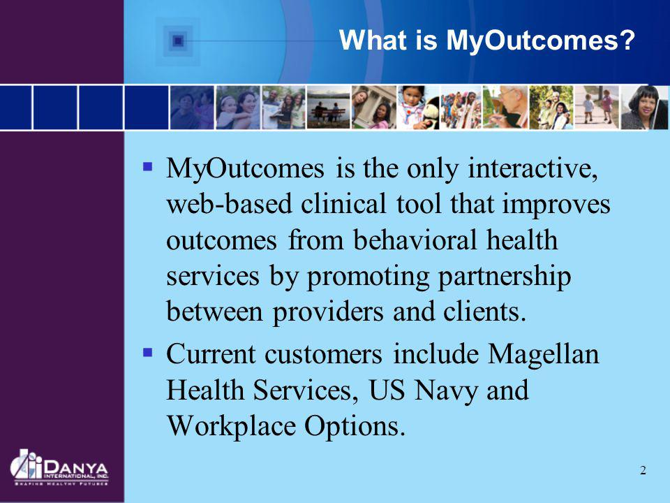 What is MyOutcomes