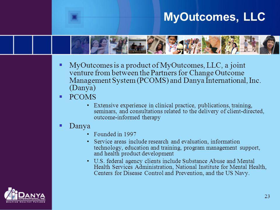 MyOutcomes, LLC