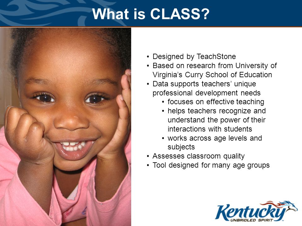 What is CLASS Designed by TeachStone