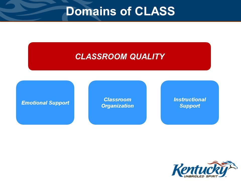 Classroom Organization Instructional Support