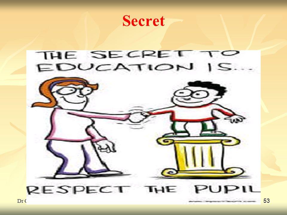Secret Dr G L Gulhane