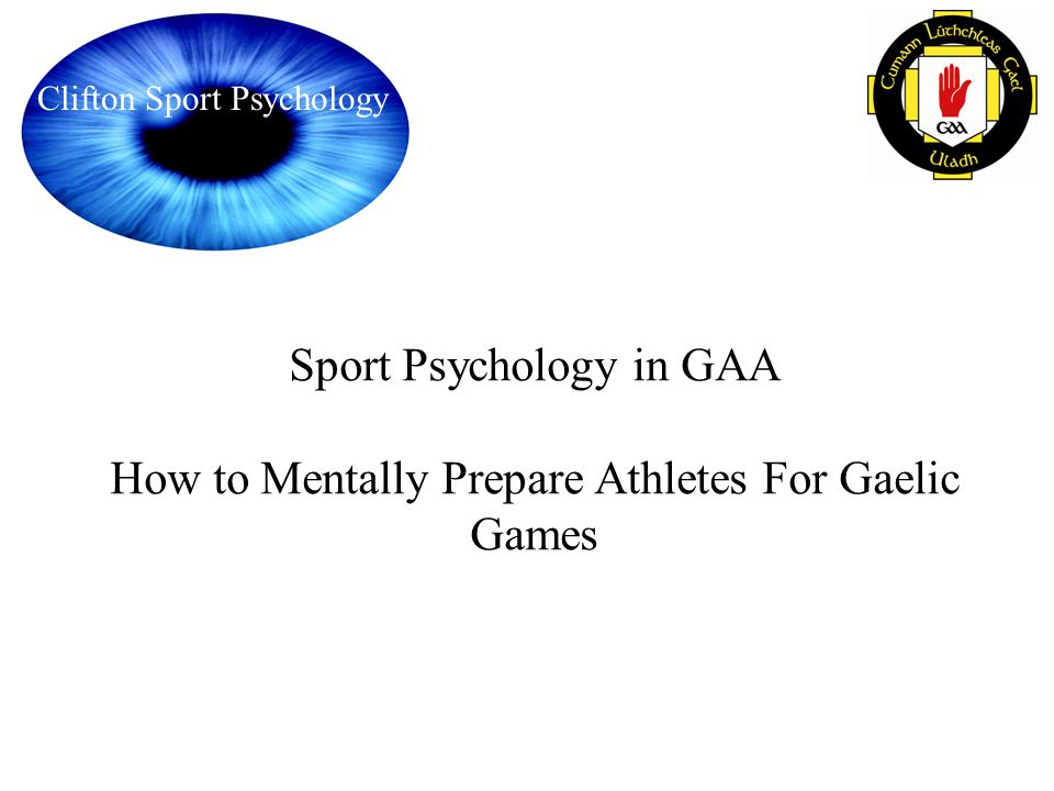 Sport Psychology in GAA