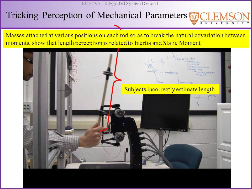 Tricking Perception of Mechanical Parameters
