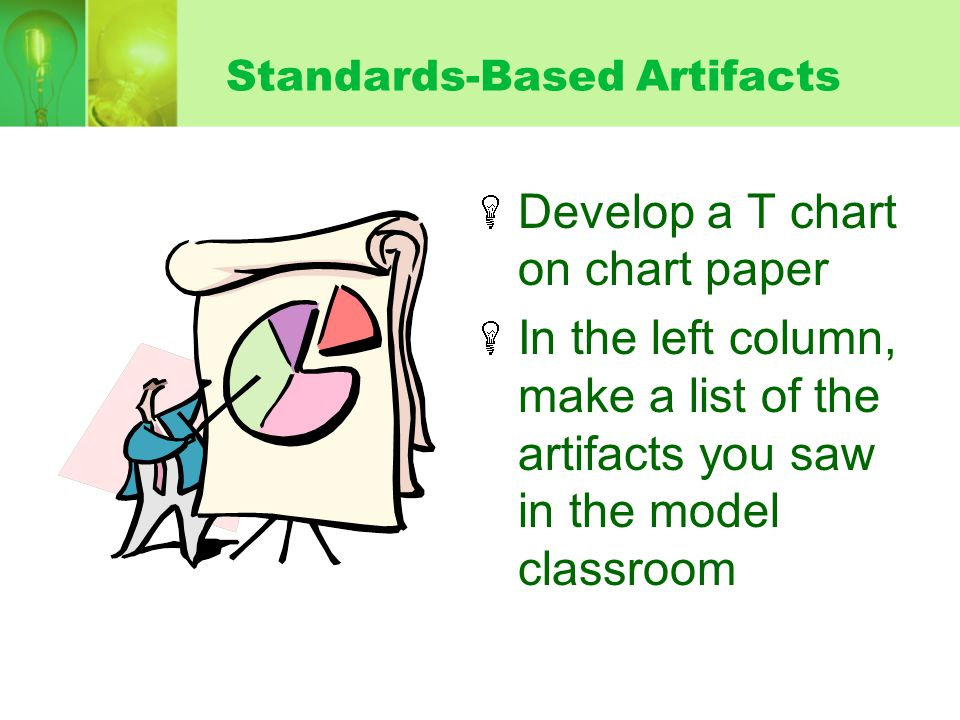 Standards-Based Artifacts