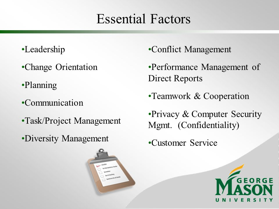 Essential Factors Leadership Change Orientation Planning Communication