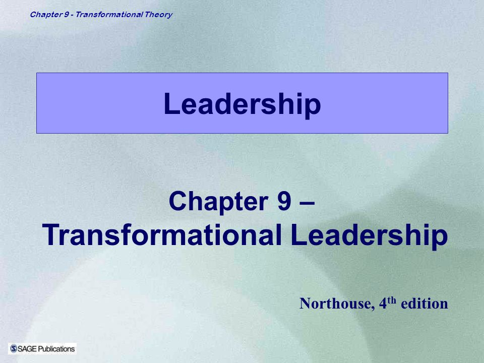 northouse transformational leadership