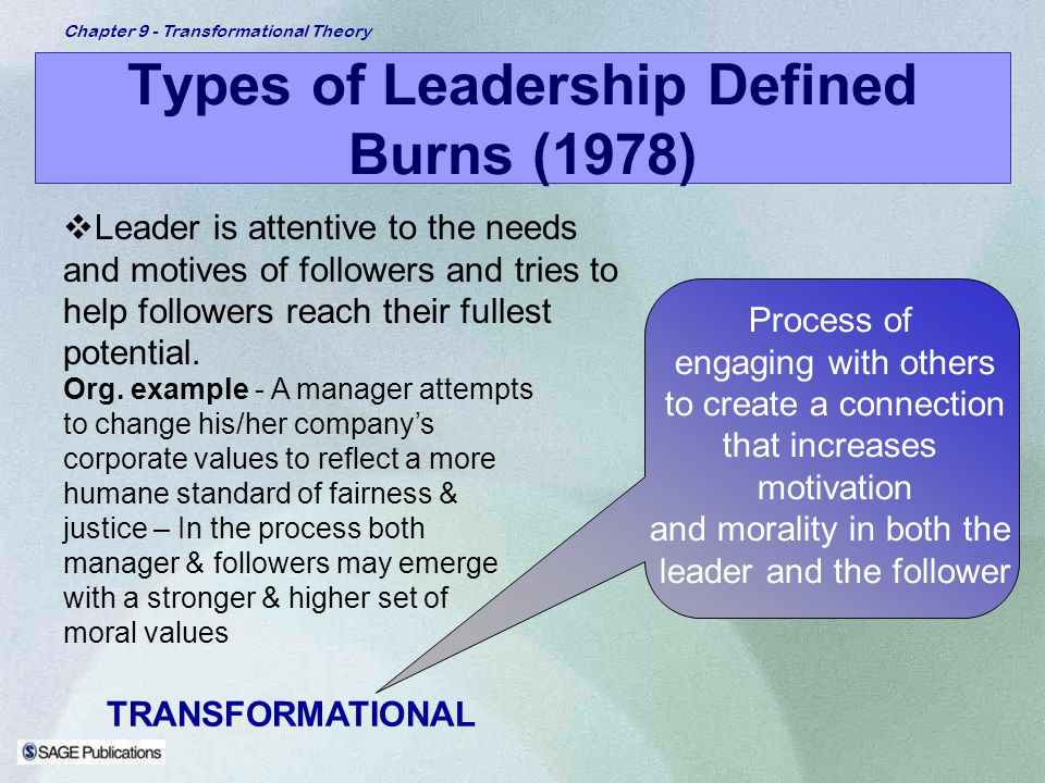 styles of leadership and their effects on motivation Transformational leadership and its predictive effects on leadership effectiveness  challenges they must adopt effective leadership styles to direct their.