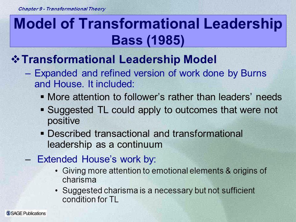 transformational leadership position paper