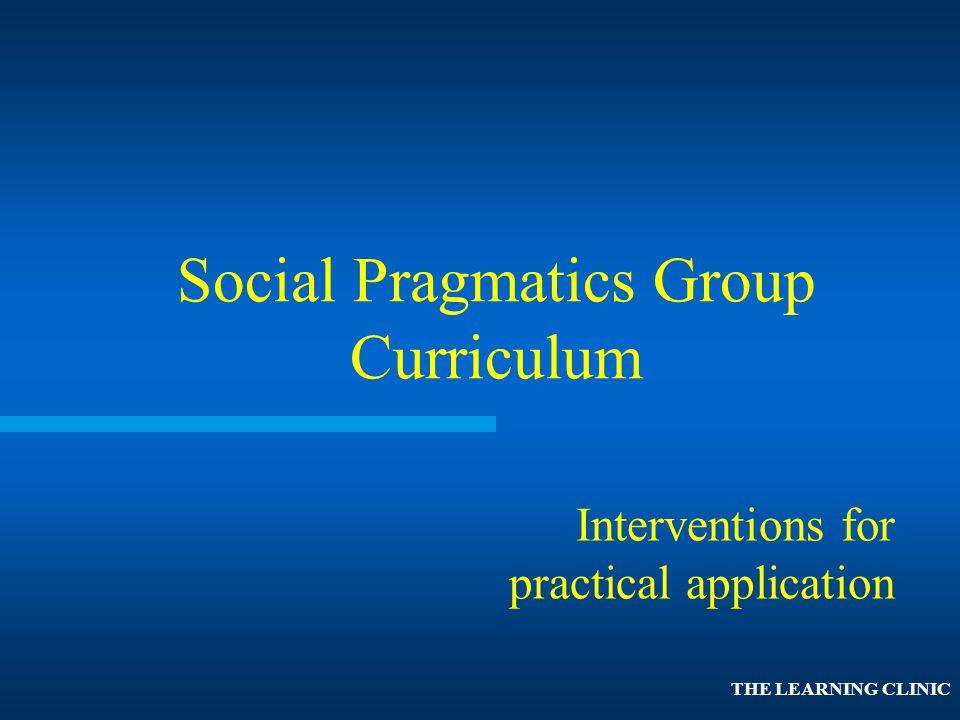 Social Pragmatics Group Curriculum